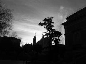 La iglesia de Los Jerónimos, en Madrid