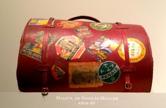 Maleta de Nicolás Muller