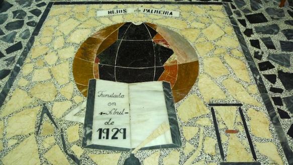 Mosaico conservado en la Sociedad de Hijos de Palmeira.