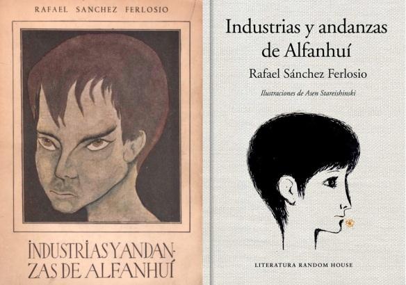 La primera edición de la obra (1951), junto a una de las más recientes (2016).