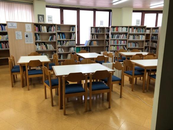 Biblioteca municipal de Burela.