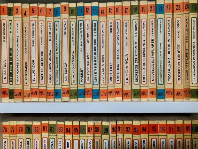 Libros de la colección RTVE, publicados entre 1969 y 1971.