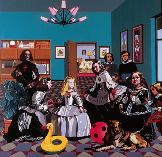 «Las meninas» o «La salita». Equipo Crónica, 1970. Fundación March.