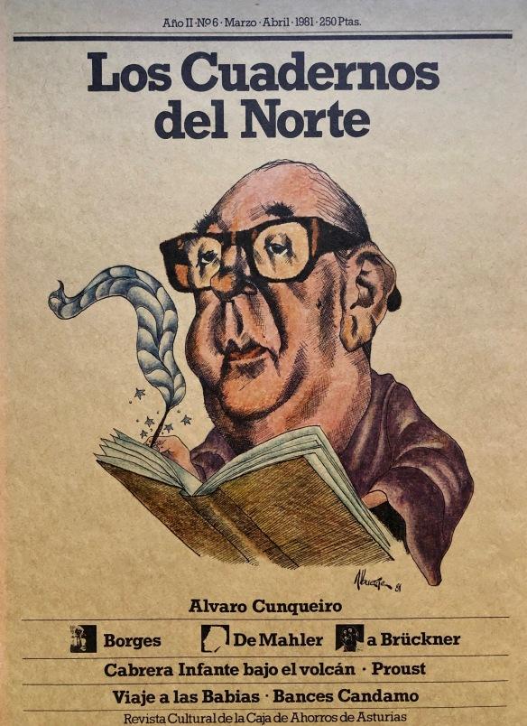 Homenaje a Cunqueiro en «Los Cuadernos del Norte»