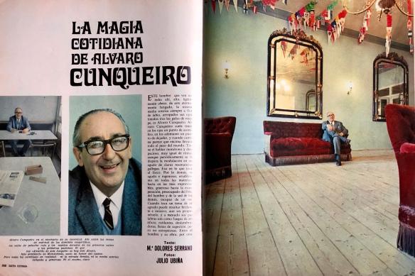 «Gaceta Ilustrada», 12 de enero de 1969. Entrevista de María Dolores Serrano. Fotos de Julio Ubiña.